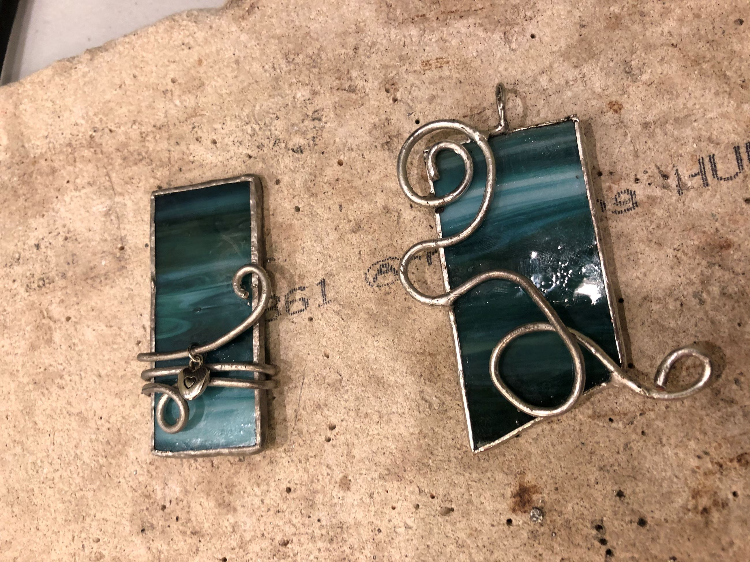 Stained Glass Pendants