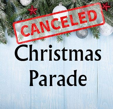 Christmas Parade Canceled