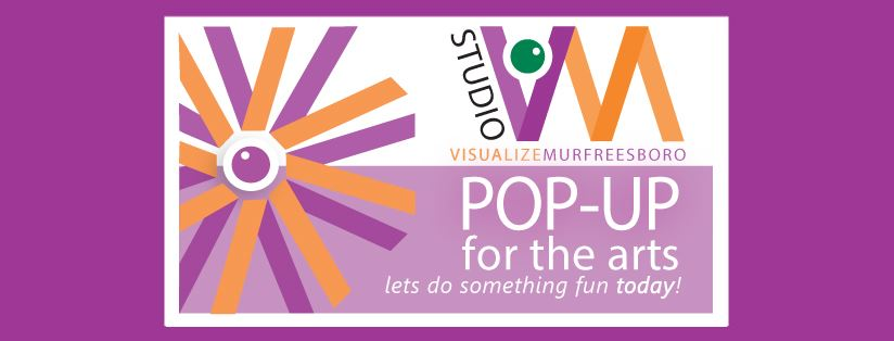 pop up for the arts logo