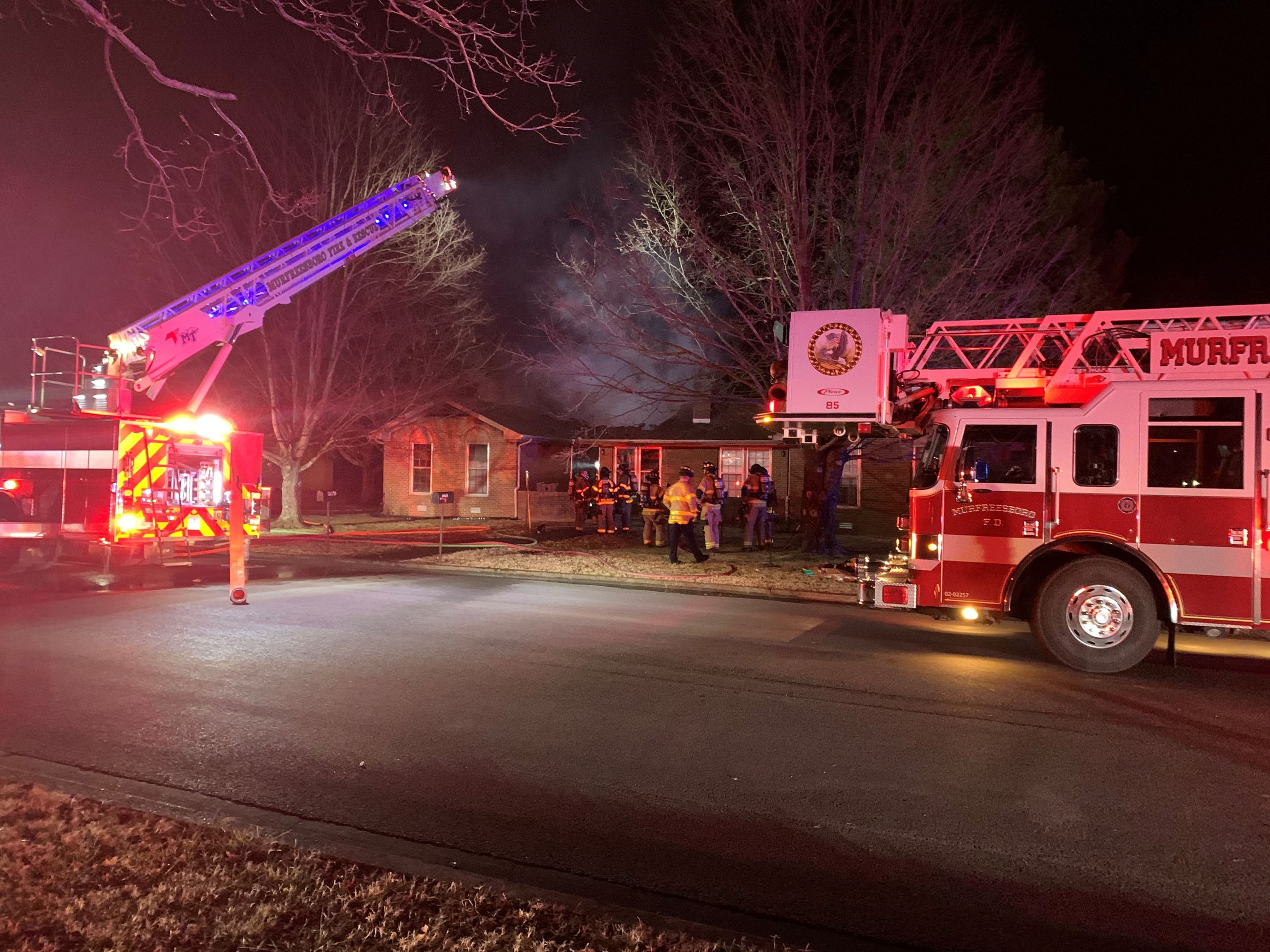 Craig Court Duplex Fire