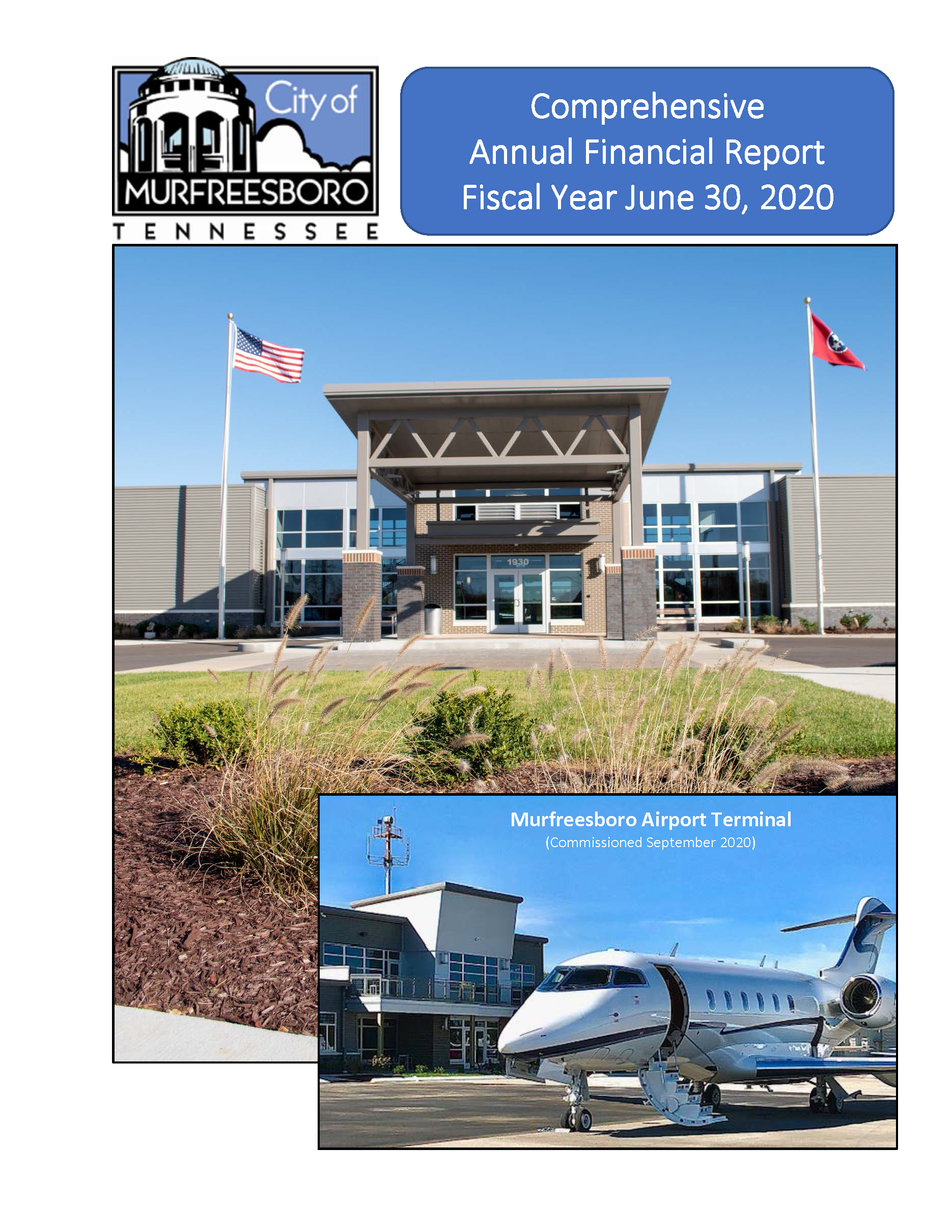 Comprehensive Annual Financial Report Fiscal Year June 30, 2020