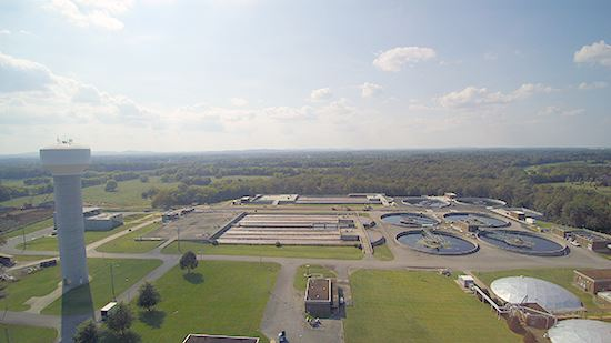 Water Resources Recovery Facility aerial view3