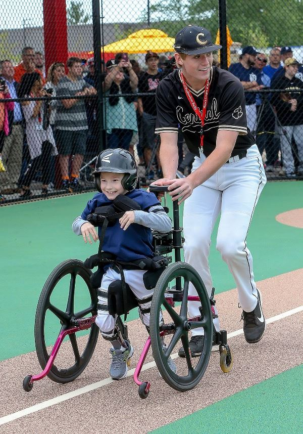 Miracle Field opening day 1