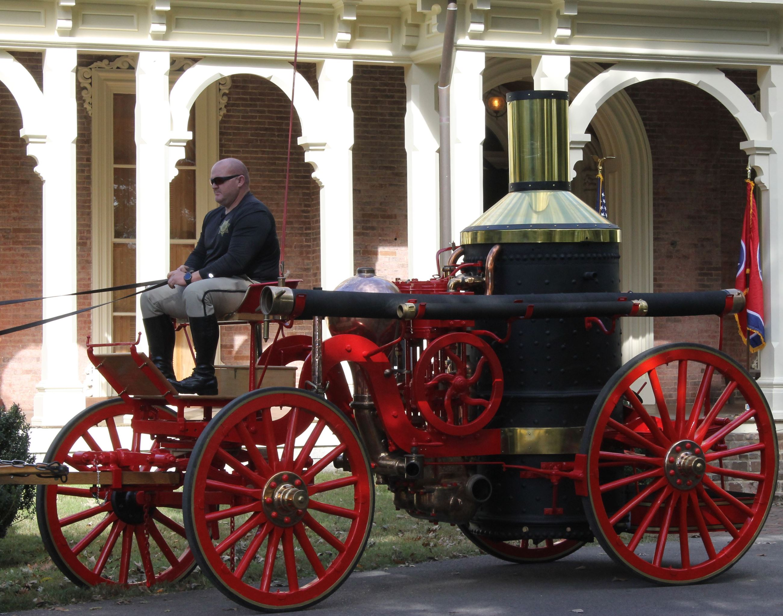1892 Ahrens Steam Fire Engine IMG_8513
