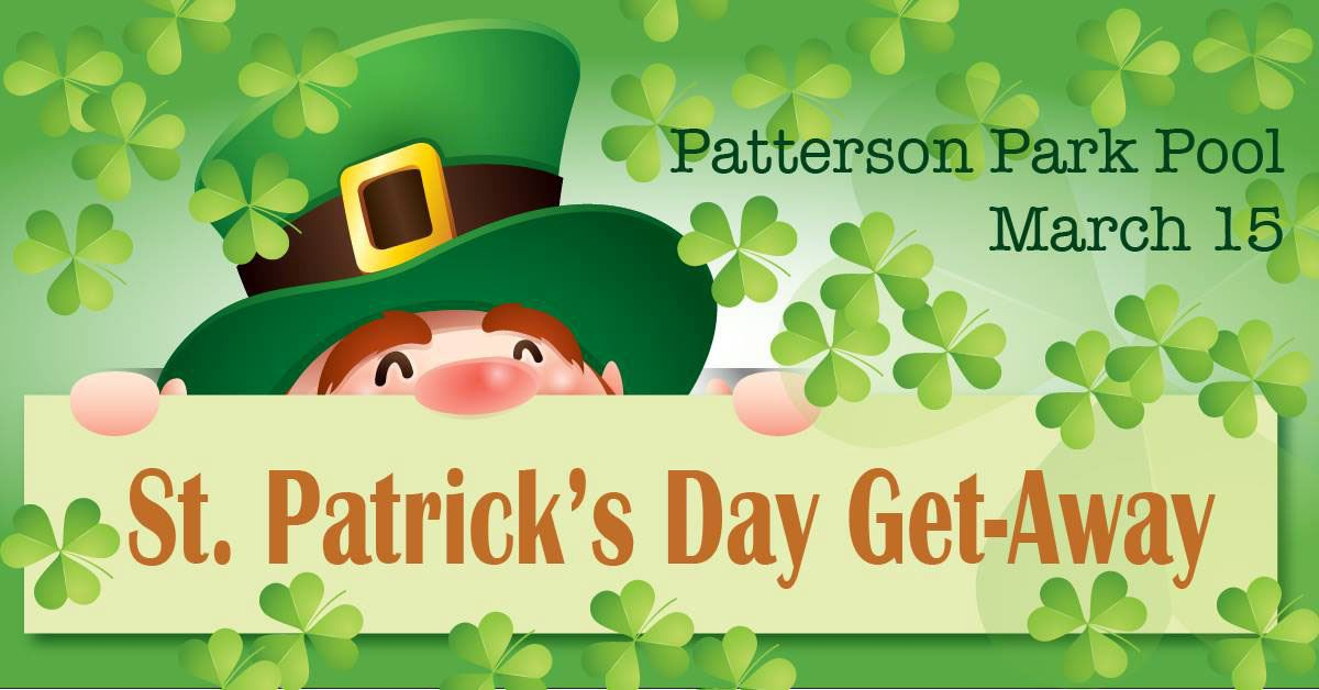2019 St. Patricks Day get away Patterson for city website calendar