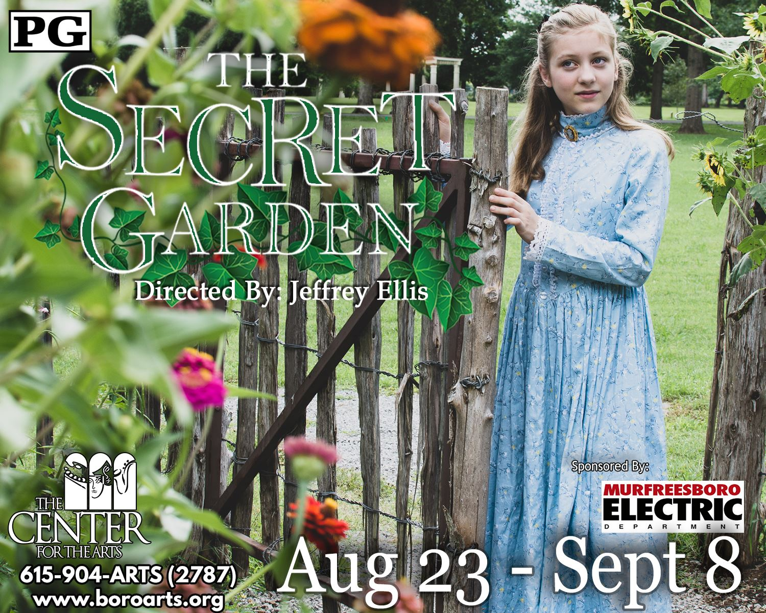 The Secret Garden Half Page Ad (3)