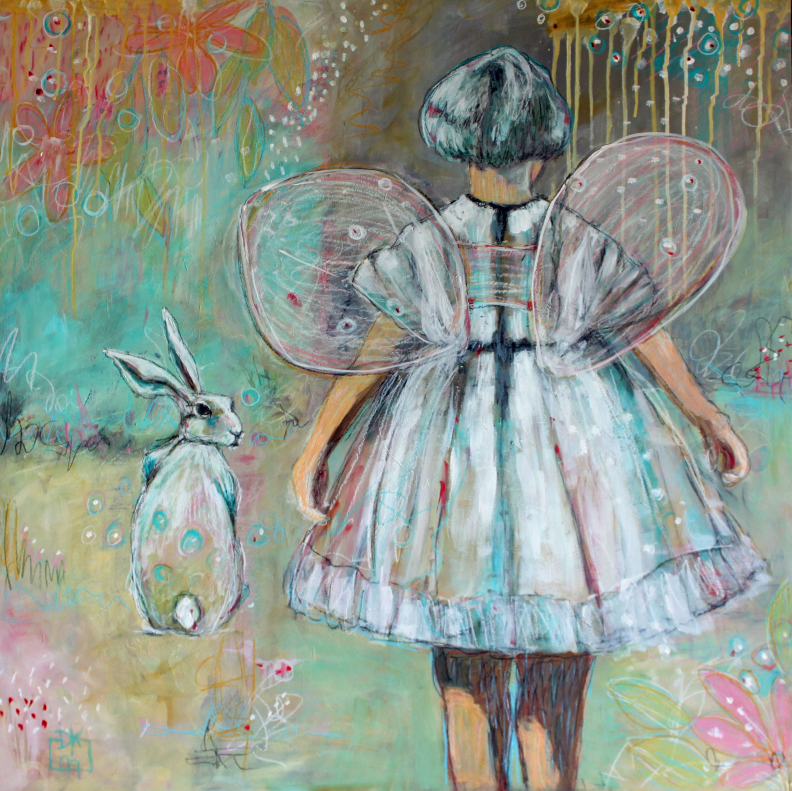 Where Wonder Leads Painting by Dawna Magliacano