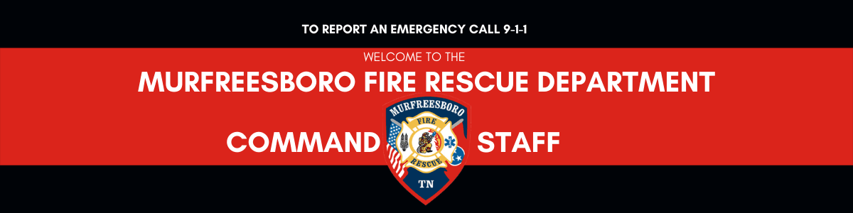 MFRD Command Staff Banner