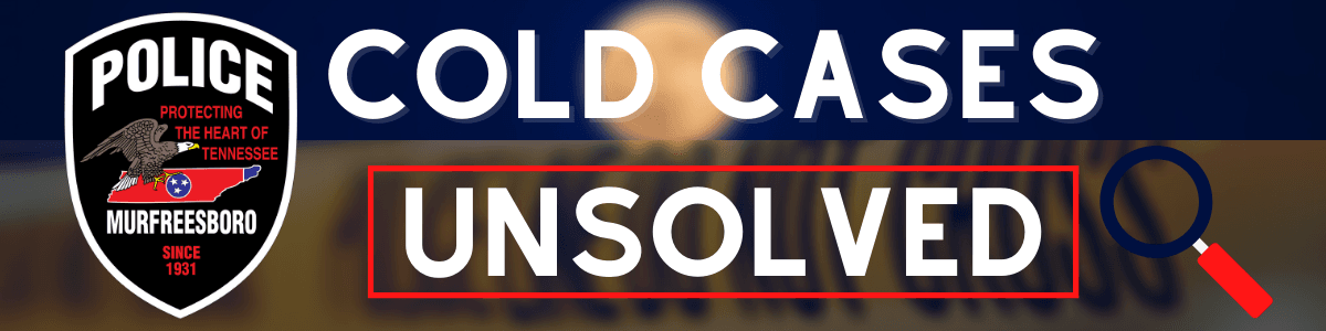 Cold Cases Banner