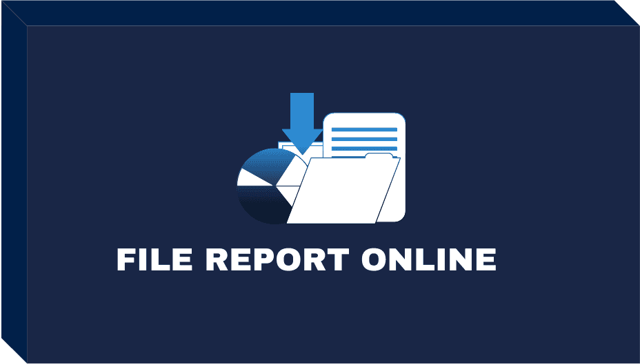 File Report Form Button Opens in new window