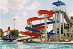 Water Slides at Boro Beach