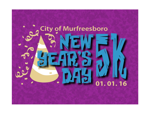 New Year's Day 5k logo