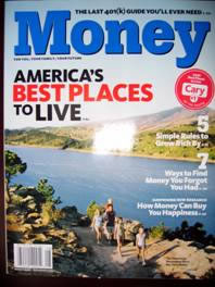 Money Magazines Top 100 Places to Live