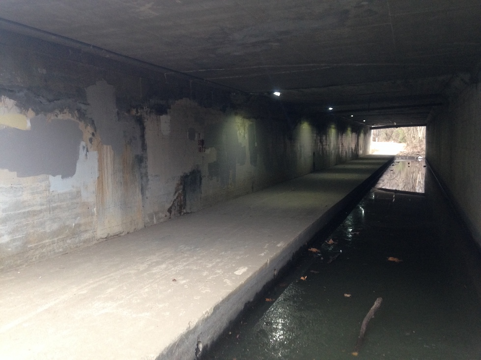 Broad Street underpass - BEFORE