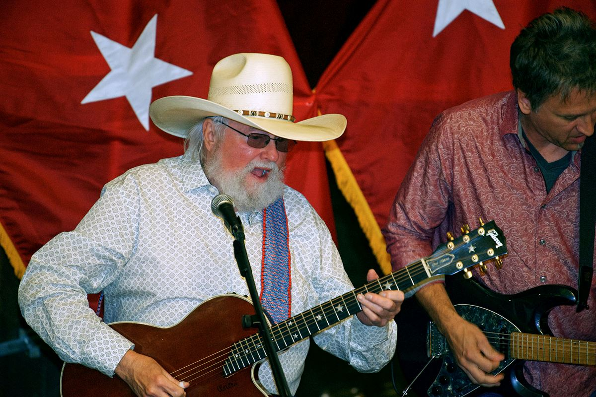 Charlie Daniels performs