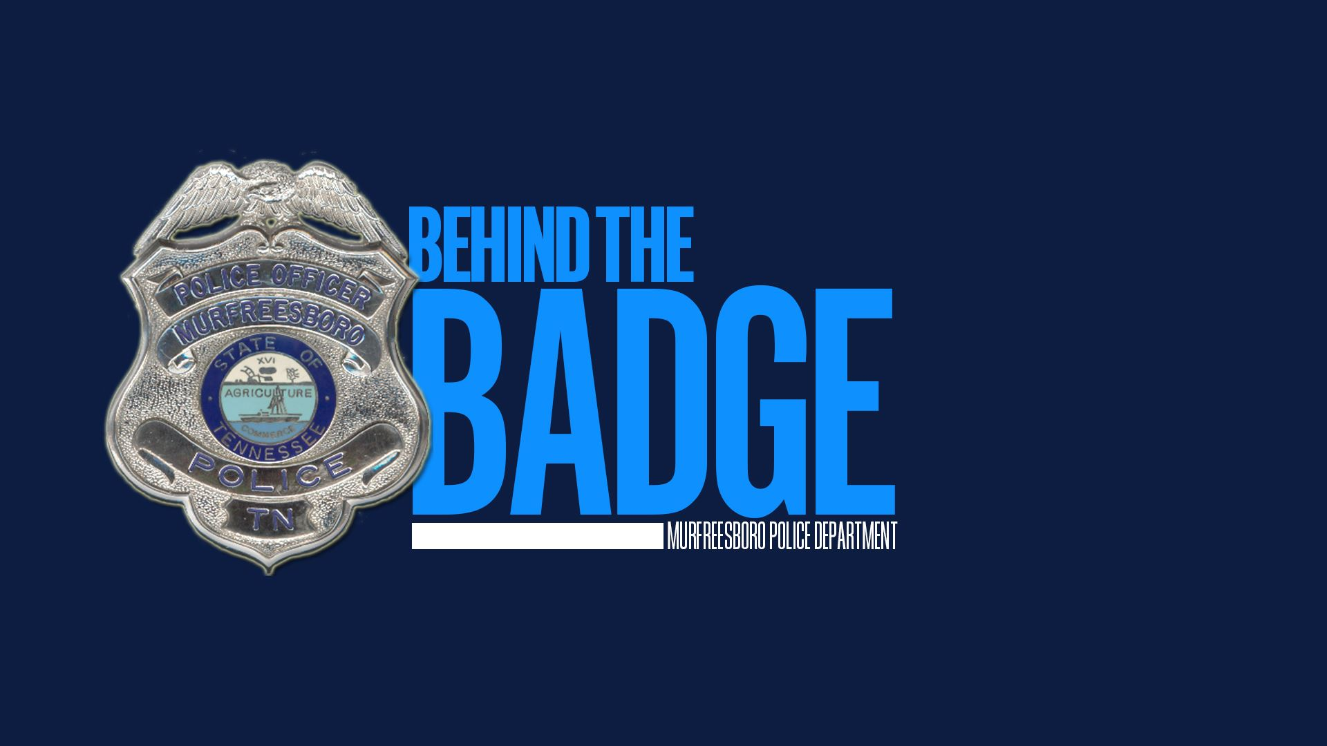 BEHIND THE BADGE 4