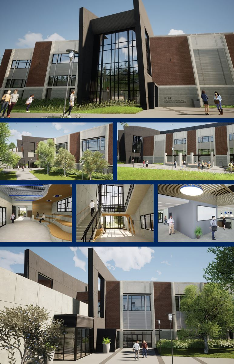 MTSU Concrete and Construction building rendering1
