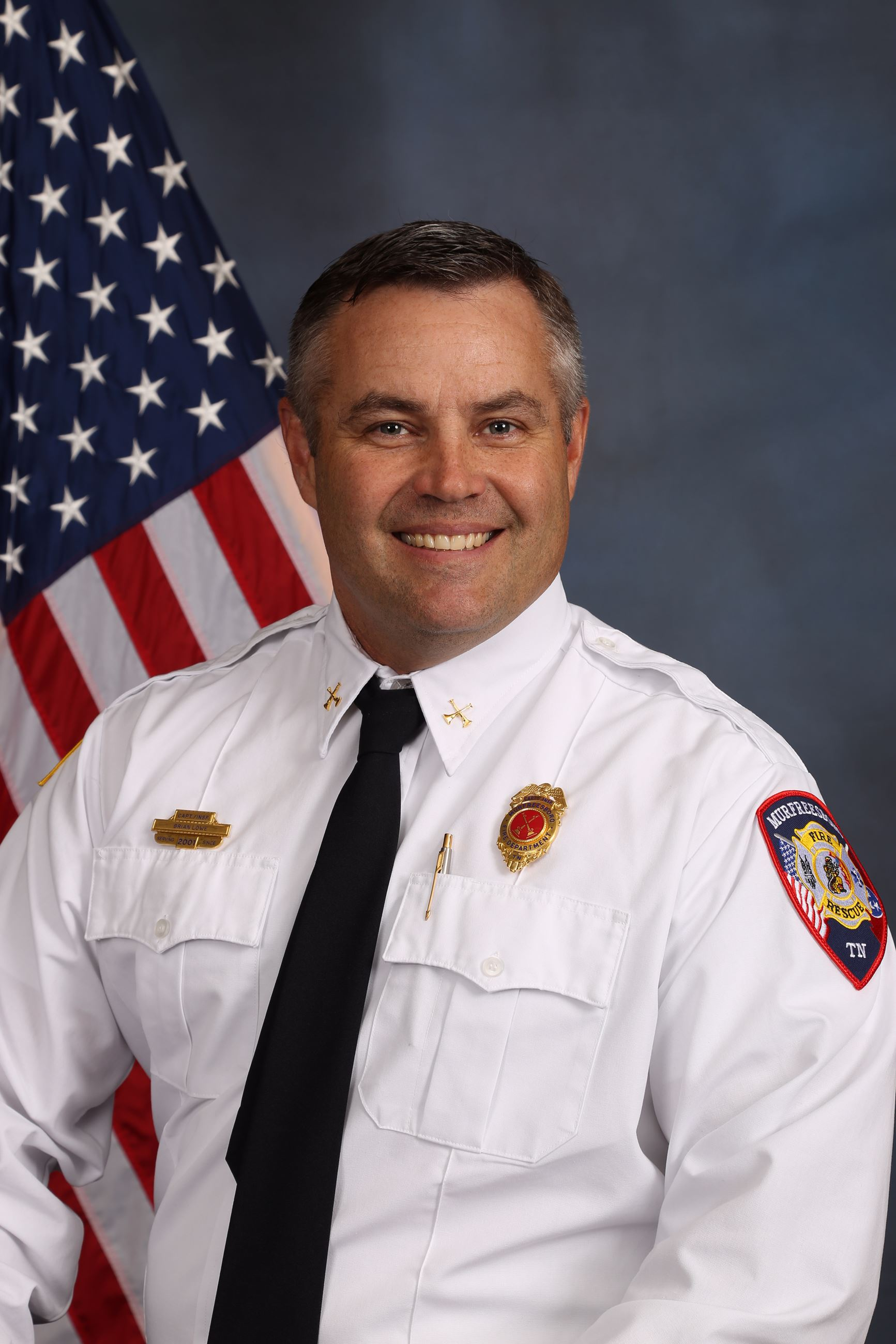 Assistant Chief Brian Lowe