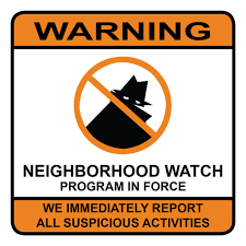 NEIGHBORHOOD WATCH SIGN OVERLAY