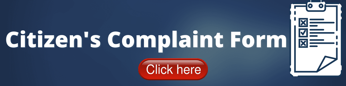 Citizens Complaint Form Opens in new window